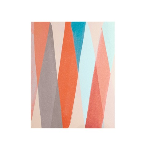 Thatta Way Pastel Unframed Wall Canvas Orange - image 1 of 4