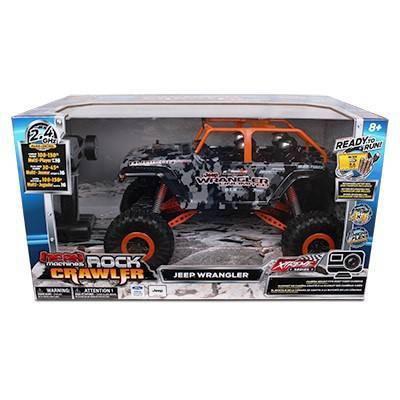 Mean Machine's RC RTR 1/10th Scale x-Treme Jeep Wrangler