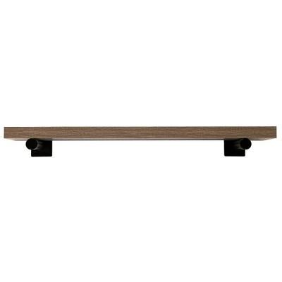 """36"""" Floating Bracket Shelf Driftwood- InPlace"""