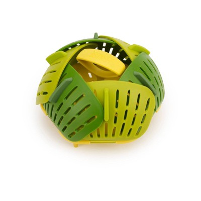 Joseph Joseph Bloom Collapsible Steamer Basket Green