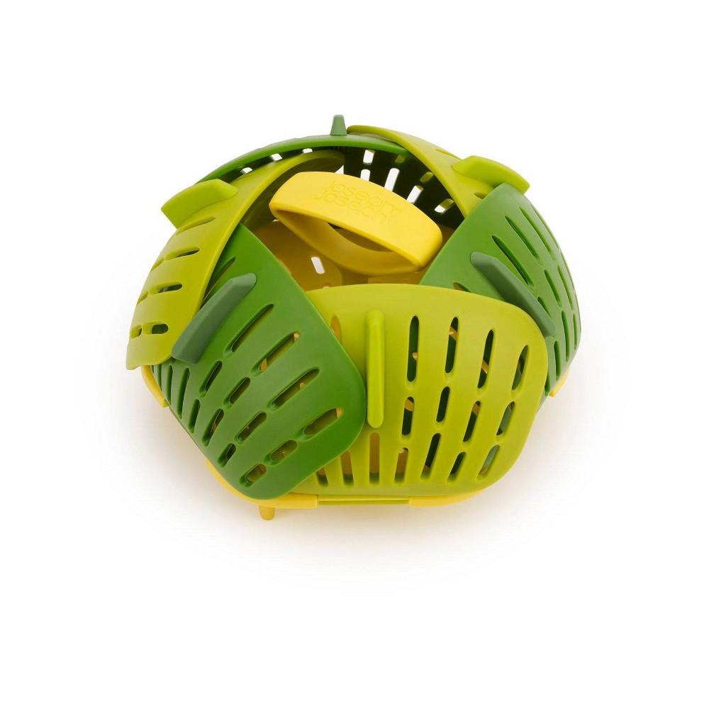 Image of Joseph Joseph Bloom Collapsible Steamer Basket Green