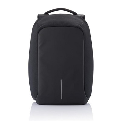 XD Design P705.561 Bobby Extra Large Anti Theft Compact Travel Laptop Case Backpack with USB Port and Hidden Compartments, Black