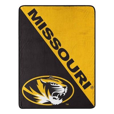 """NCAA Missouri Tigers 50""""x60"""" Throw Blanket"""