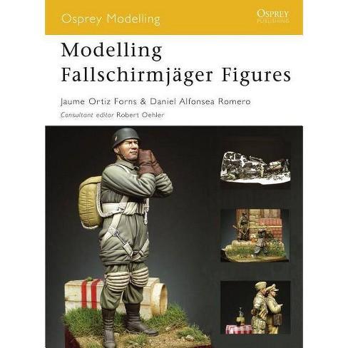 Modelling Fallschirmj�ger Figures - (Osprey Modelling Manuals) (Paperback) - image 1 of 1