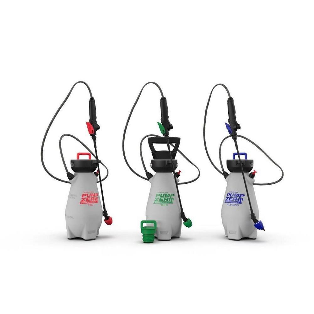 Image of 3pk Battery Powered Sprayer - Pump Zero