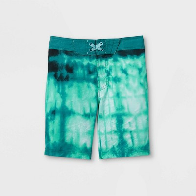 Boys' Tie-Dye Swim Trunks - art class™