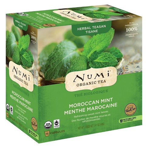 Numi® Organic Moroccan Mint Tea Capsules - 16ct - image 1 of 1