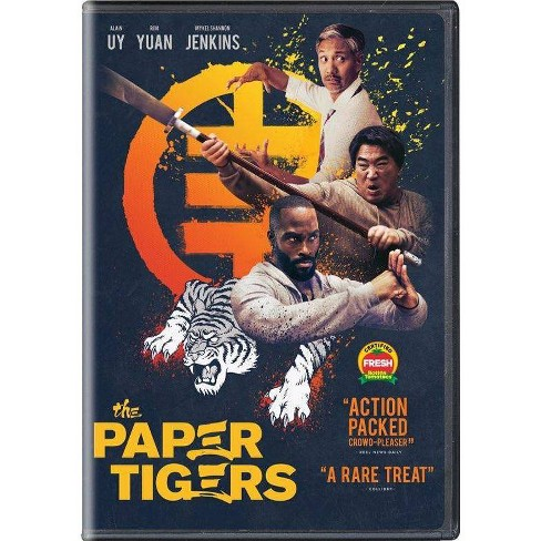 The Paper Tigers (DVD)(2021) - image 1 of 1