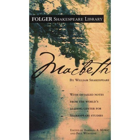 Macbeth - (Folger Shakespeare Library) by  William Shakespeare (Hardcover) - image 1 of 1