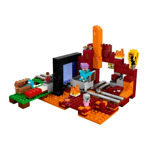 Lego Minecraft The Nether Portal 21143 Target