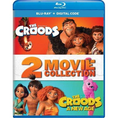 The Croods: 2-Movie Collection (Blu-ray + Digital)