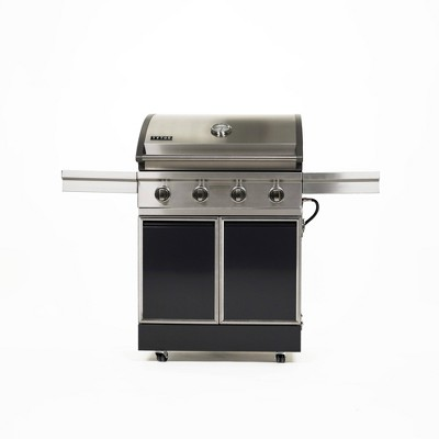 TYTUS 4 Burner Cart Gas Grill T400PCCLP-0.0.0 Charcoal Stainless Steel