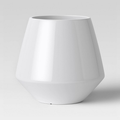 16  Mid Century Polypropylene Planter White - Project 62™