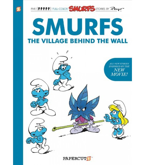 Smurfs : The Village Behind the Wall (Paperback) (Peyo) - image 1 of 1