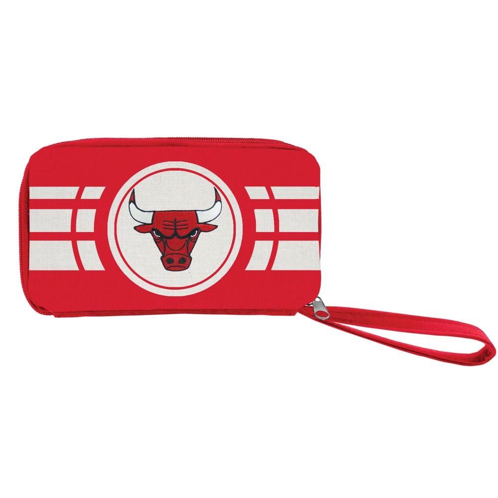 NBA Chicago Bulls Ripple Zip Wallet, Adult Unisex