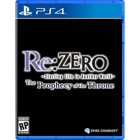 Re:ZERO - The Prophecy of the Throne - PlayStation 4 - image 1 of 4