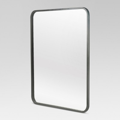 Framed modern mirror Interior Target Metal Framed Wall Mirror 20