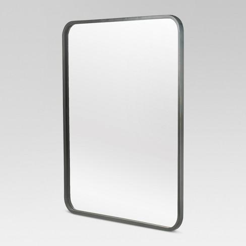 Metal Framed Wall Mirror 20 X 24 Black Project 62 Target