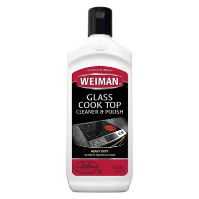 Weiman Glass Cook Top Heavy Duty Cleaner & Polish - 10oz