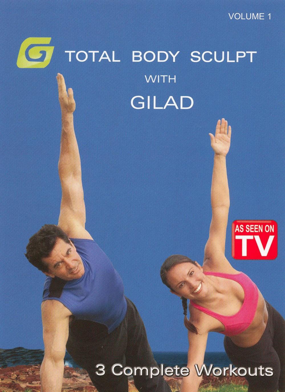 Gilad:Total body sculpt workout 1 (Dvd)