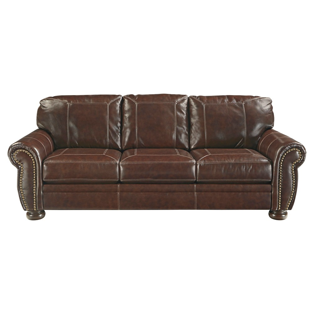 Banner Queen Sofa Sleeper Coffee (Brown) - Signature Design by Ashley