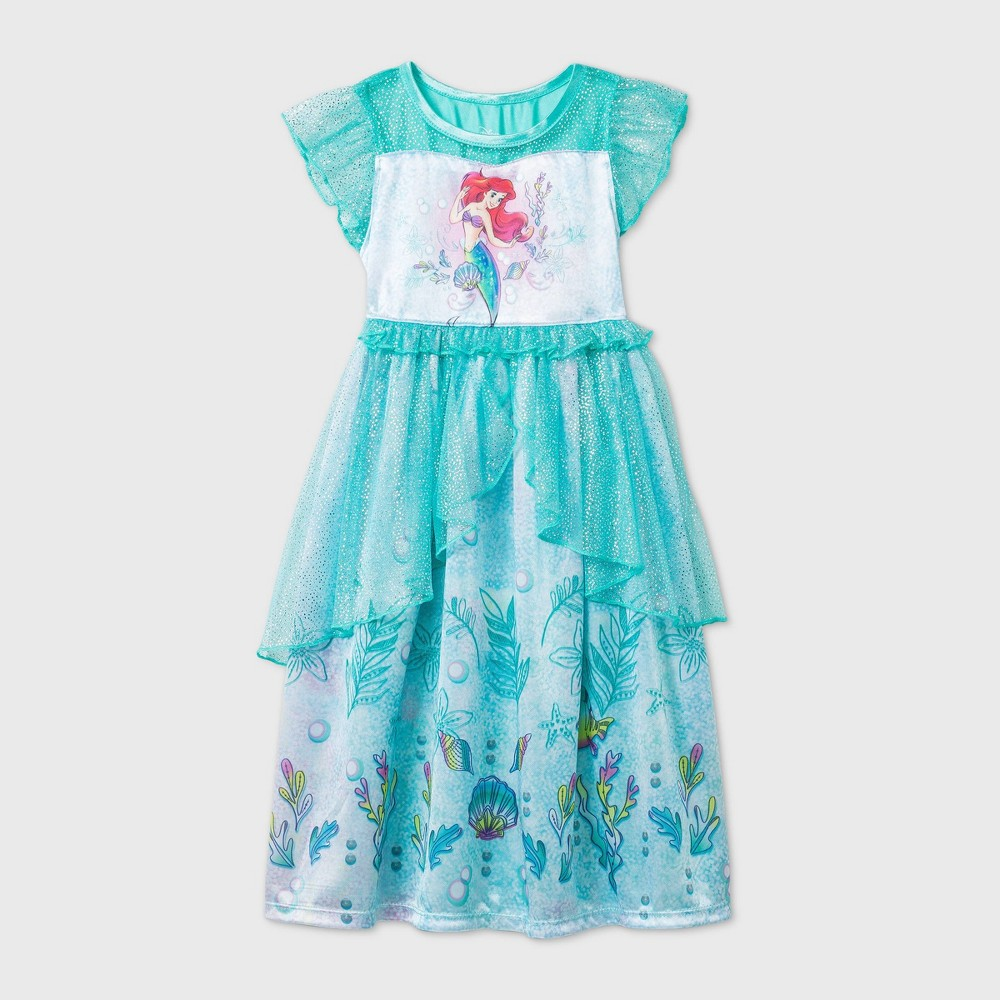 Promos Toddler Girls' The Little Mermaid Nightgown -