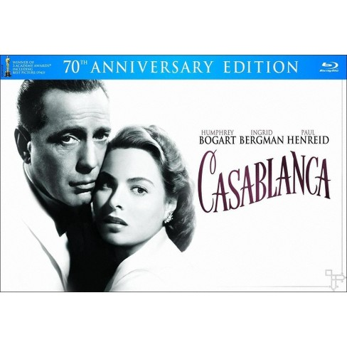 Casablanca [70th Anniversary Edition] [3 Discs] [Blu-ray/DVD] - image 1 of 1