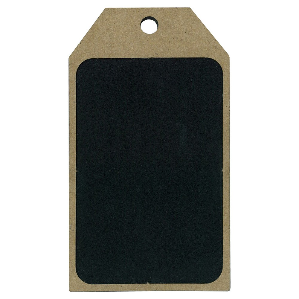 Image of 4ct Chalkboard & Wood Gift Tag - Spritz
