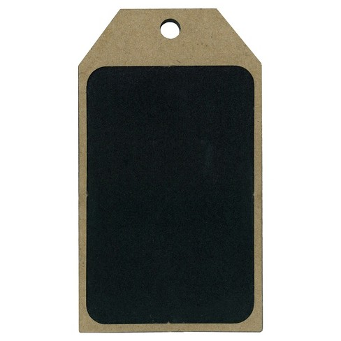 4ct Chalkboard & Wood Gift Tag - Spritz™ - image 1 of 2