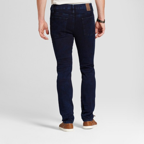 4868bf71573 Men s Skinny Fit Jeans - Goodfellow   Co™ Inky Dark Wash   Target