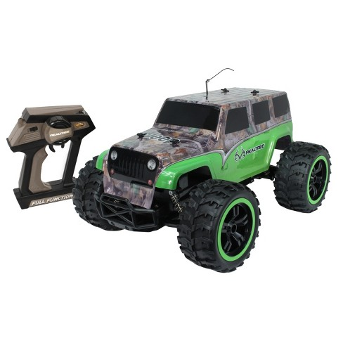 NKOK RealTree - RC Jeep Wrangler Unlimited - Green Camo - 1:10 Scale - image 1 of 2