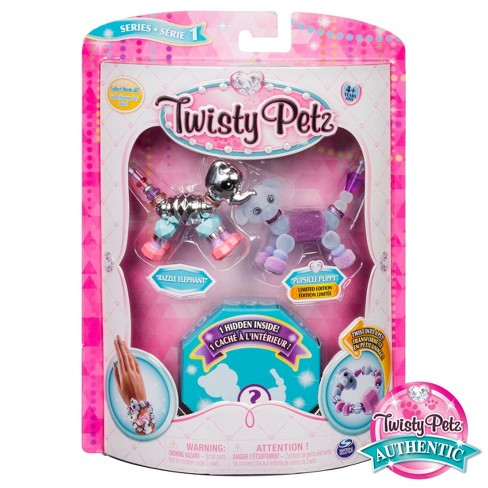 Twisty Petz - Razzle Elephant & CakePup Puppy - image 1 of 7