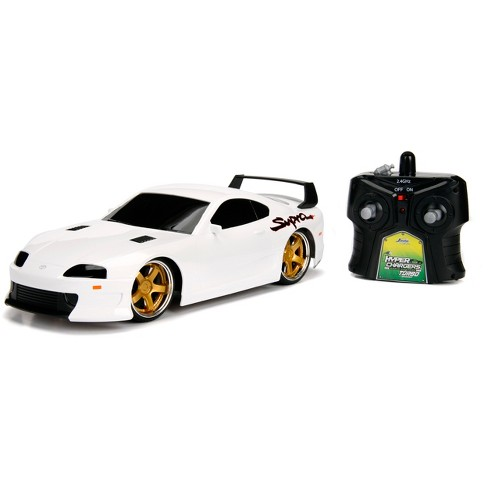HyperChargers Tuner Remote Control RC Vehicle - 1995 Toyota Supra - 1:16 Scale - image 1 of 5