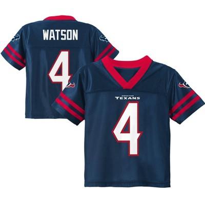 NFL Houston Texans Toddler Boys' Deshaun Watson Short Sleeve Jersey