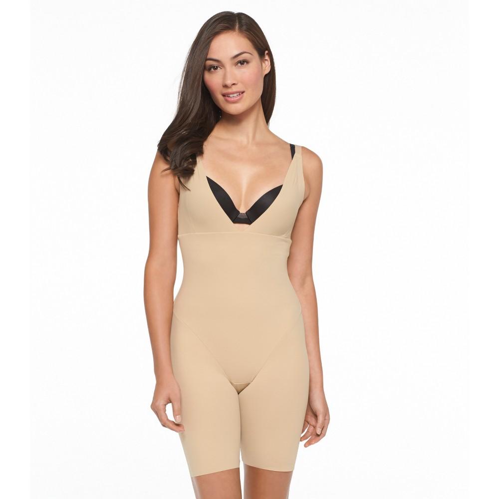 Best Price Maidenform Self Expressions Women Wear Your Own Bra Bodysuit Beige L Body Beige