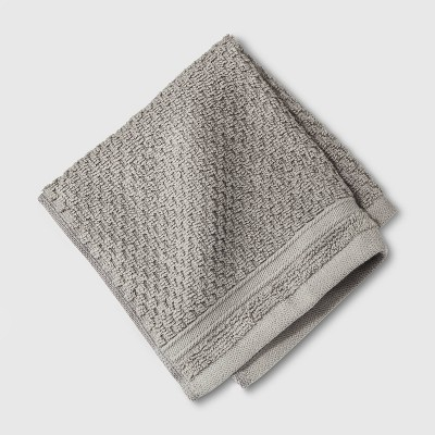 Performance Texture Washcloth Gray - Threshold™