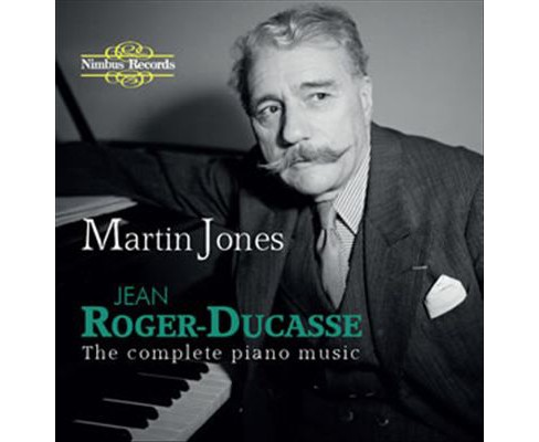 Martin jones - Roger ducasse:Complete piano music (CD) - image 1 of 1