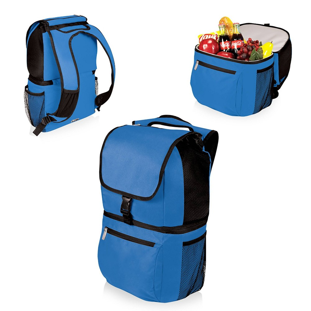 Image of Picnic Time Zuma Insulated Backpack Cooler - Blue