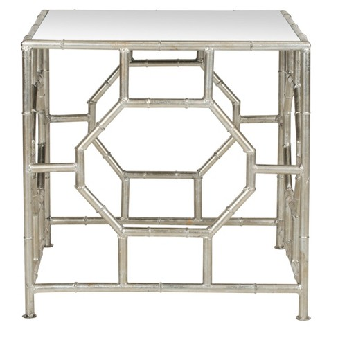 Rory Accent Table Silver - Safavieh® - image 1 of 4