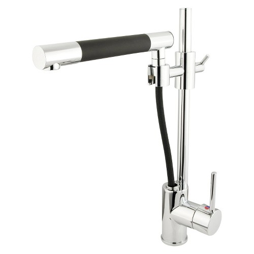Modern Pull-out Wand Kitchen Faucet Chrome - Kingston Brass