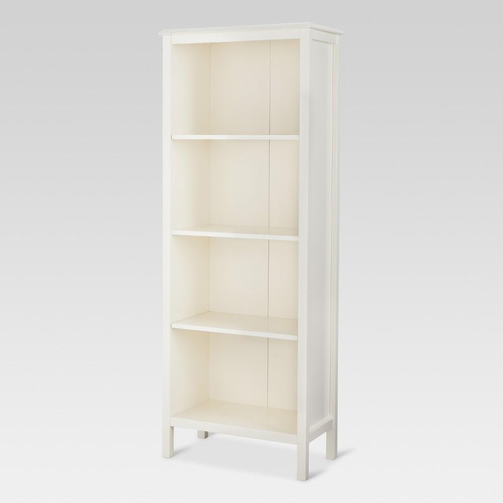 60 Windham 4 Shelf Bookcase Shell Threshold 8482