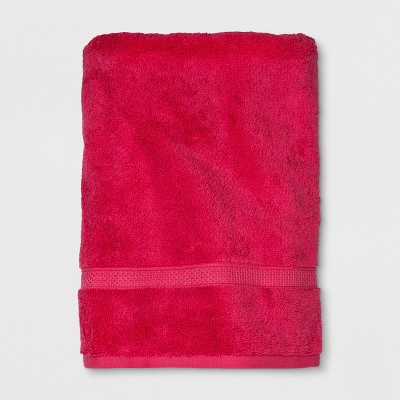 Soft Solid Bath Towel Hot Pink - Opalhouse™