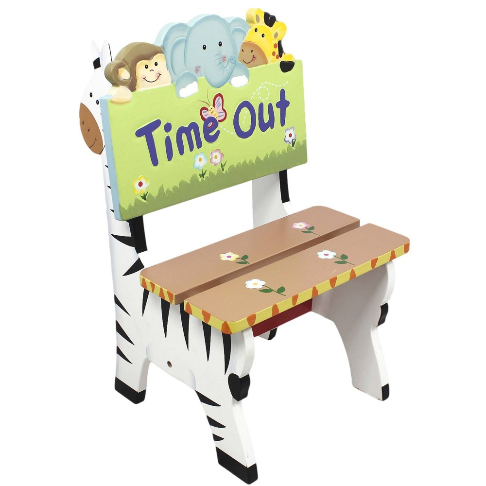 Image of Sunny Safari Fantasy Fields Time Out Chair - Teamson Kids