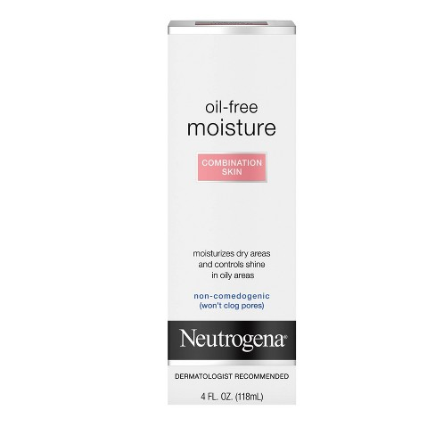 Neutrogena Oil Free Face & Neck Moisturizer for Combination Skin - 4 fl oz - image 1 of 4
