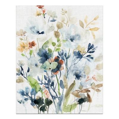 24 x36  Holland Spring Mix I By Carol Robinson Art On Canvas - Fine Art Canvas