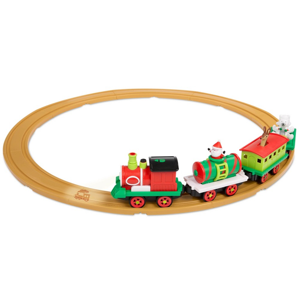 All Aboard by Battat Christmas Animated Train Set