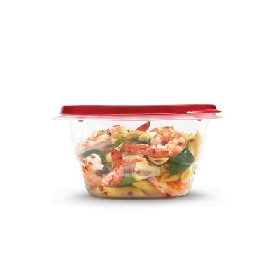 Rubbermaid TakeAlongs Food Storage Containers - 5.2 Cup Square - 8pk