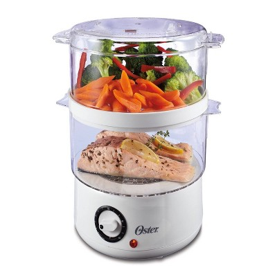 Oster Double Food Steamer - White