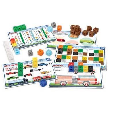MathLink Cubes Kindergarten Math Activity Set Mathmobiles - Learning Resources