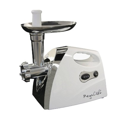 Megachef Automatic Meat Grinder - White